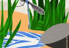dragonfly design print