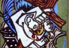 Icon Jesus crucifixion